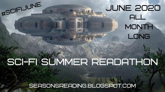 #sciFiJune #Readathon Science Fiction or Fantasy June readathon 2020