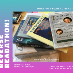 2020 Deweys 24 hour reverse readathon book reading list