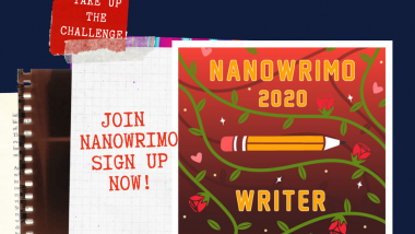Join the annual NaNoWriMo writing challenge