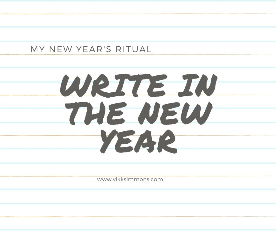 Writing ritual to bring in the new year