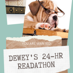 Dewey's Readathon gives booklovers fun reading event.