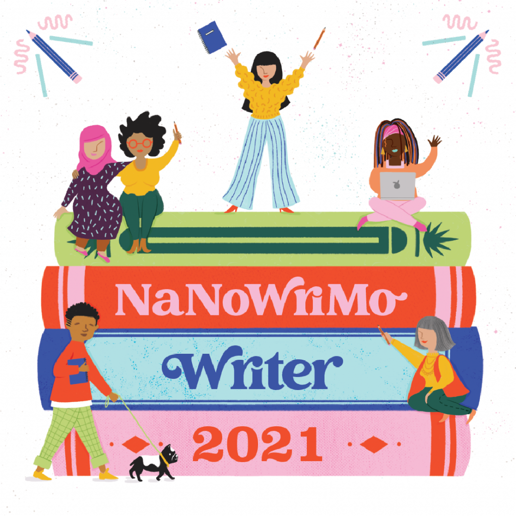 November is the annual writing competition NaNoWriMo